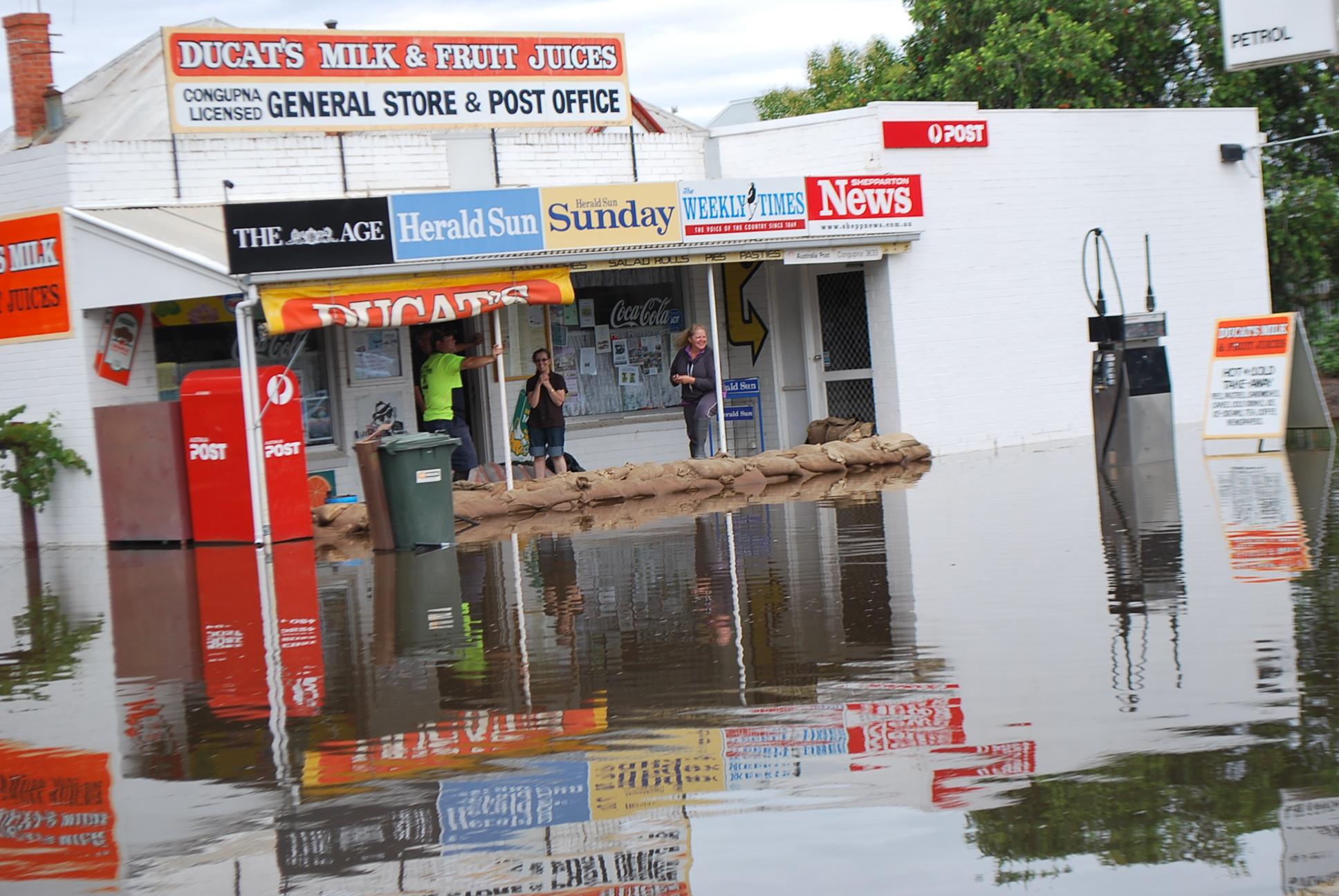 Flood Water Damage Renovation